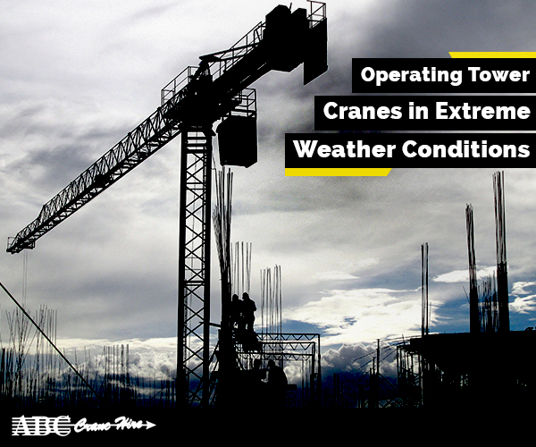 Precautions for Operating Cranes Under Bad Weather Conditions