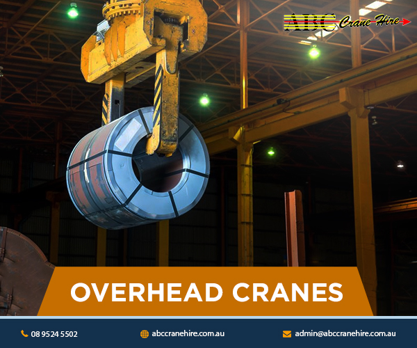 Types of Overhead Cranes Provided by Crane Rental Companies