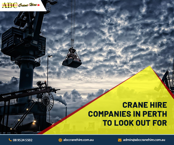 Which Are the Best Crane Hire Companies in Perth?