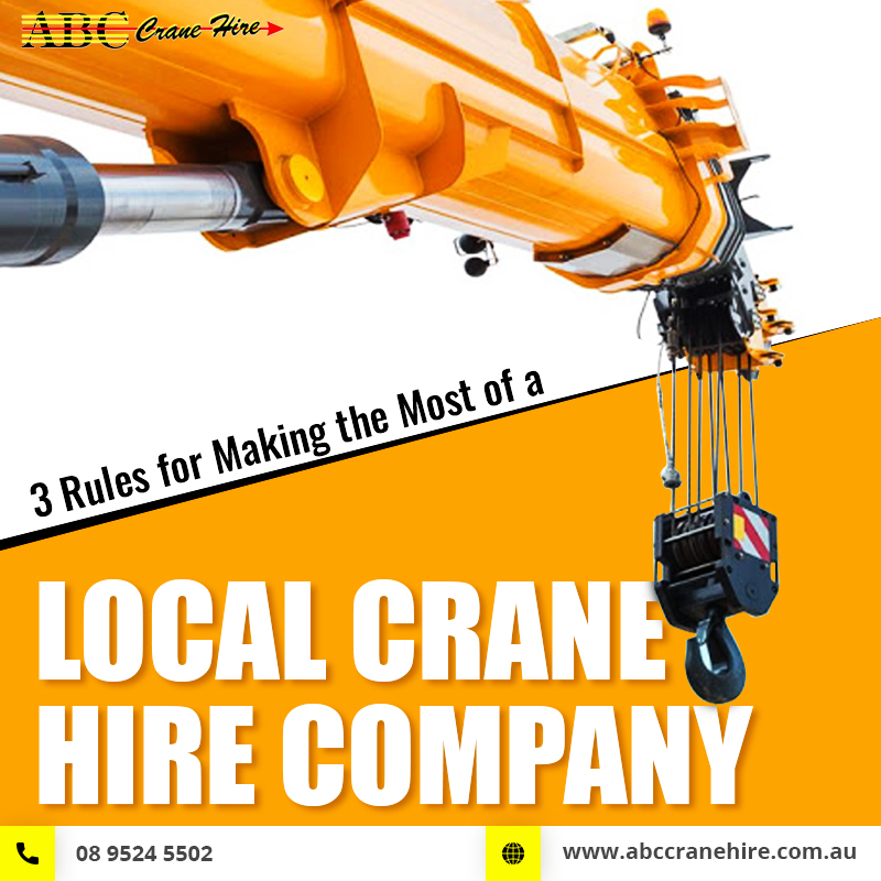 local crane hire company