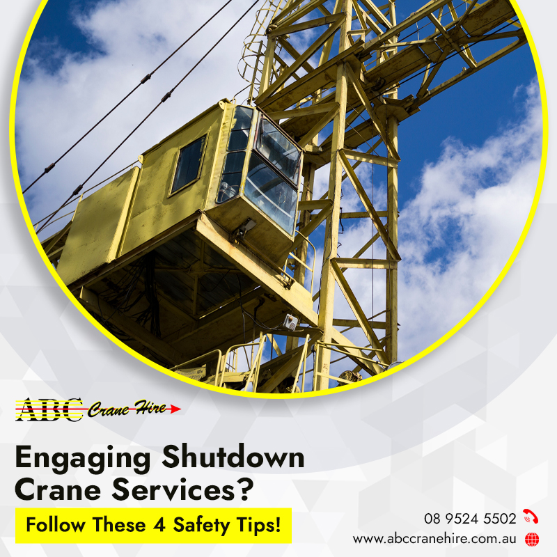 Engaging Shutdown rane Services