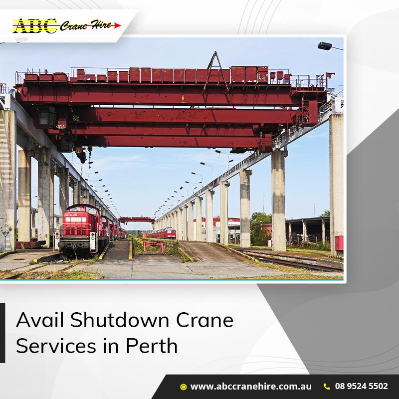 shutdown crane services