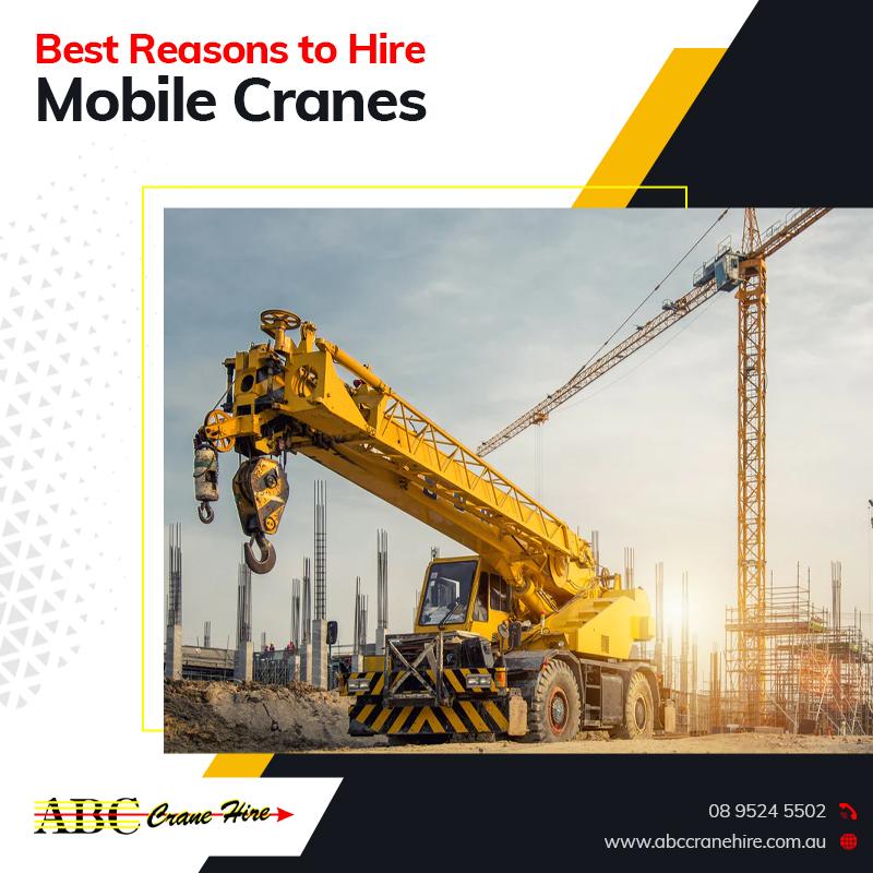mobile cranes perth