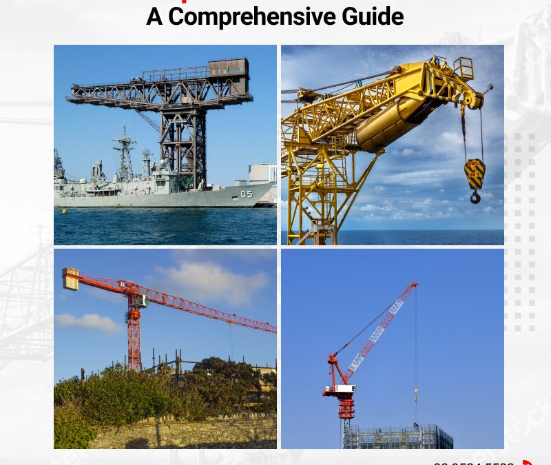 Most Popular Tower Cranes You can Opt for in Perth?