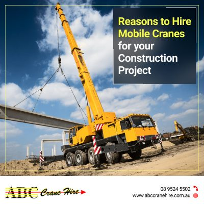 What Features Make Mobile Cranes in Perth an Ideal Choice?